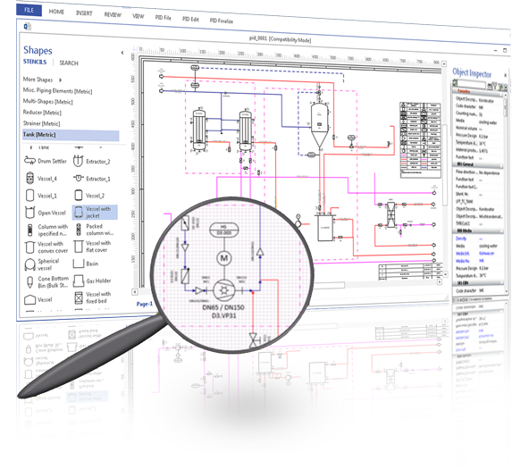 Visio-based P&ID Software